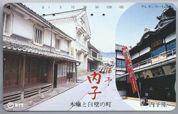 JP.- Japan, Telefoonkaart. Telecarte Japon. NTT. - Telefoonkaarten