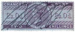 (I.B) QV Revenue : Chancery Court 2/- (1857) - 1840-1901 (Victoria)