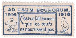 (I.B) France Cinderella : Delandre Great War Patriotic Stamp (Chicks) - Europe (Other)