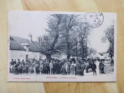 45 PITHIVIERS - LA FOIRE AUX CHEVAUX 1908 - Pithiviers