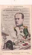 CPA ESPERANTO Caricature Dro Léon ROSENSTOCK Congrès Jubilé 1912 Illustrateur Jean ROBERT - Esperanto
