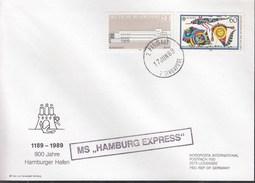 "Schiffspost MS ""HAMBURG EXPRESS"", Paquebot Singapore 17.JUN 1989 - Maritime"
