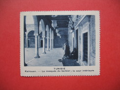 Chromo Image Vignette  Tunisie - Kairouan - La Mosquée Du Barbier, La Cour Intérieure -   6.5 X 7.5 Cm - Chromos
