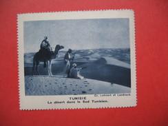 Chromo Image Vignette  Tunisie - Le Désert Dans Le Sud Tunisien -   6.5 X 7.5 Cm - Chromos