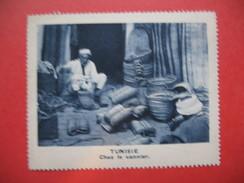 Chromo Image Vignette  Tunisie - Chez Le Vannier -   6.5 X 7.5 Cm - Chromos