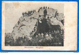 ITALIE- SICILE- MAZZARA - Miragliano   (animée) N° 3338 R  VAT-ed  Aielllo    CPA  1909 - Mazara Del Vallo