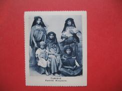 Chromo Image Vignette  Tunisie - Famille Kroumire   -   6.5 X 7.5 Cm - Chromos