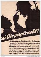 Original Propaganda - Plakat , 1945 , Wehrmacht - Letze Kämpfe , Endkampf !!! - Documents