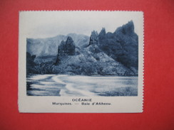 Chromo Image Vignette  Océanie - Marquises - Baie D'Atiheou -   6.5 X 7.5 Cm - Chromos