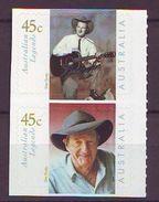 AU - 2001, Country Music 2v S-a Mnh - 2000-09 Elizabeth II