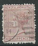 Nouvelle Zelande   - Yvert N°  55 Oblitéré   -  Ad35411 - 1855-1907 Kronenkolonie