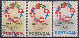 PORTUGAL 1967 Nº 1024/26 USADO - 1910-... République