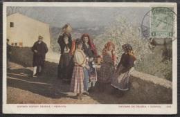 CPA - CORFOU - PAYSANS DE PELEKA - Edition ? - Grèce