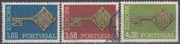 PORTUGAL 1968 Nº 1032/34 USADO - 1910-... République