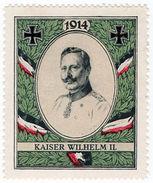 (I.B-CK) Germany (Great War) Cinderella : Patriotic Stamp (Kaiser Wilhelm) - Germany
