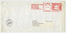 UNIONE ITALIANA DEI CIECHI/ROMA - 1982 - Affrancatura Meccanica Rossa (EMA) - Machine Stamps (ATM)