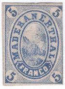 (I.B-CK) Switzerland Hotel Stamp : Maderanerthal 5c (proof) - Switzerland