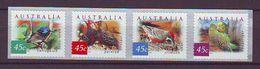 AU - 2001, Desert Birds 4v S-a Mnh - Nuovi