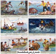 Chromo Liebig Sang. 1543 ITA Pesca Costiera ANNO 1952 - Liebig
