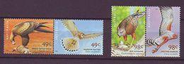 AU - 2001, Birds Of Prey 2x2v Mnh - 2000-09 Elizabeth II