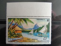 POLYNESIE 1964 P.A. Y&T N° 9 ** - PAYSAGES DE MOOREA - Polynésie Française