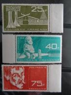 POLYNESIE 1965 P.A. Y&T N° 11 à 13 ** - MUSEE GAUGUIN - Polynésie Française