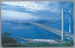 JP.- Japan, Telefoonkaart. Telecarte Japon. NTT. -  BRUG - Telefoonkaarten