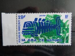 POLYNESIE 1975 Y&T N° 105 ** - PROTECTION DE LA NATURE - Frans-Polynesië