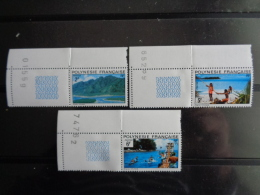 POLYNESIE 1974 Y&T N° 97 à 102 ** - PAYSAGES - French Polynesia