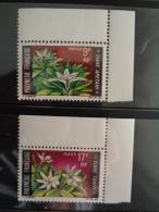 POLYNESIE 1969 Y&T N° 64 & 65 ** - FLEURS - Neufs