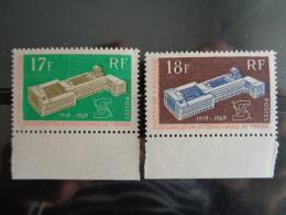 POLYNESIE 1969 Y&T N° 70 à 71 ** - 50e ANNIV. DE L' O.I.T. - Neufs