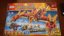 Lego Chima 70146 Le Temple Du Phoenix De Feu - Lego