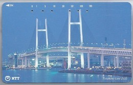 JP.- Japan, Telefoonkaart. Telecarte Japon. BRUG. - NTT. - TELEPHONE CARD 105 - Telefoonkaarten