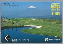JP.- Japan, Telefoonkaart. Telecarte Japon. GOLFBAAN - Sport