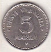 Estonie . 5 Marka 1922 .KM# 3 - Estonia