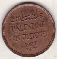PALESTINE . 1 MIL 1927 .BRONZE - Israel