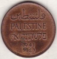 PALESTINE . 2 MILS 1941 .BRONZE - Israel