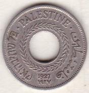 PALESTINE . 5 MILS 1927 .NICKEL CUIVRE - Israël