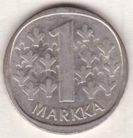 Finlande . 1 Markka 1964 . Argent - Finland