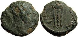 [H] +++ AE17 -- COMMODUS  --  PHILIPPOPOLIS In Thracia - Tripod With Snake - R! +++ - Römische Münzen