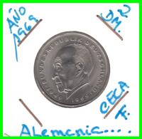 ALEMANIA  - GERMANY -  MONEDA DE 2.00 DM.  AÑO 1969-F  Konrad Adenauer - [ 7] 1949-… : RFA - Rep. Fed. Alemana