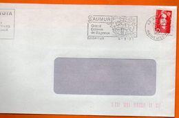 49 BAGNEUX  GRAND DOLMEN  1991 Lettre Entière 110x220 N° J 904 - Marcofilia (sobres)