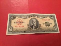 50 PESOS CUBA 1958 (TTB) - Cuba