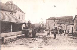 CPA - Lievans - La Fontaine - France