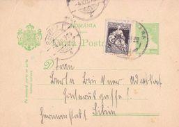 1924 - POSTAL STATIONERY Sent To SIBIU  (4.X.924) - Ganzsachen