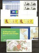 1994 EUROPA CEPT EUROPE ANNATA  YEAR Di 5 Paesi E 6 Libretti MNH** 6 Booklets: Sweden, Island, Greece, Denmark, Germa... - Europa-CEPT