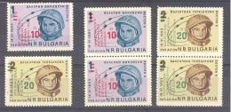 Bulgarien / Bulgaria  Michel # 1476 - 77 **   Wostok 5 Und 6  Mit Aufdruck - Europa
