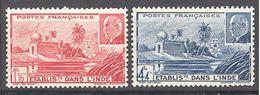Inde: Yvert N° 126/127**; MNH; Cote 1.68€ - India (1892-1954)