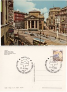 Trieste - Piazza Della Borsa - Mostra Fotografica Trasporti Pubblici - Autobus & Pullman