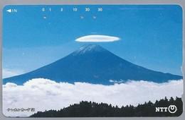 JP.- Japan, Telefoonkaart. Telecarte Japon. NTT. VULKAAN. - Landschappen